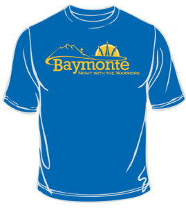 Baymonte Night with the Warriors Shirt