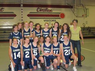 Baymonte Girls Win Bay Area Basketball Title