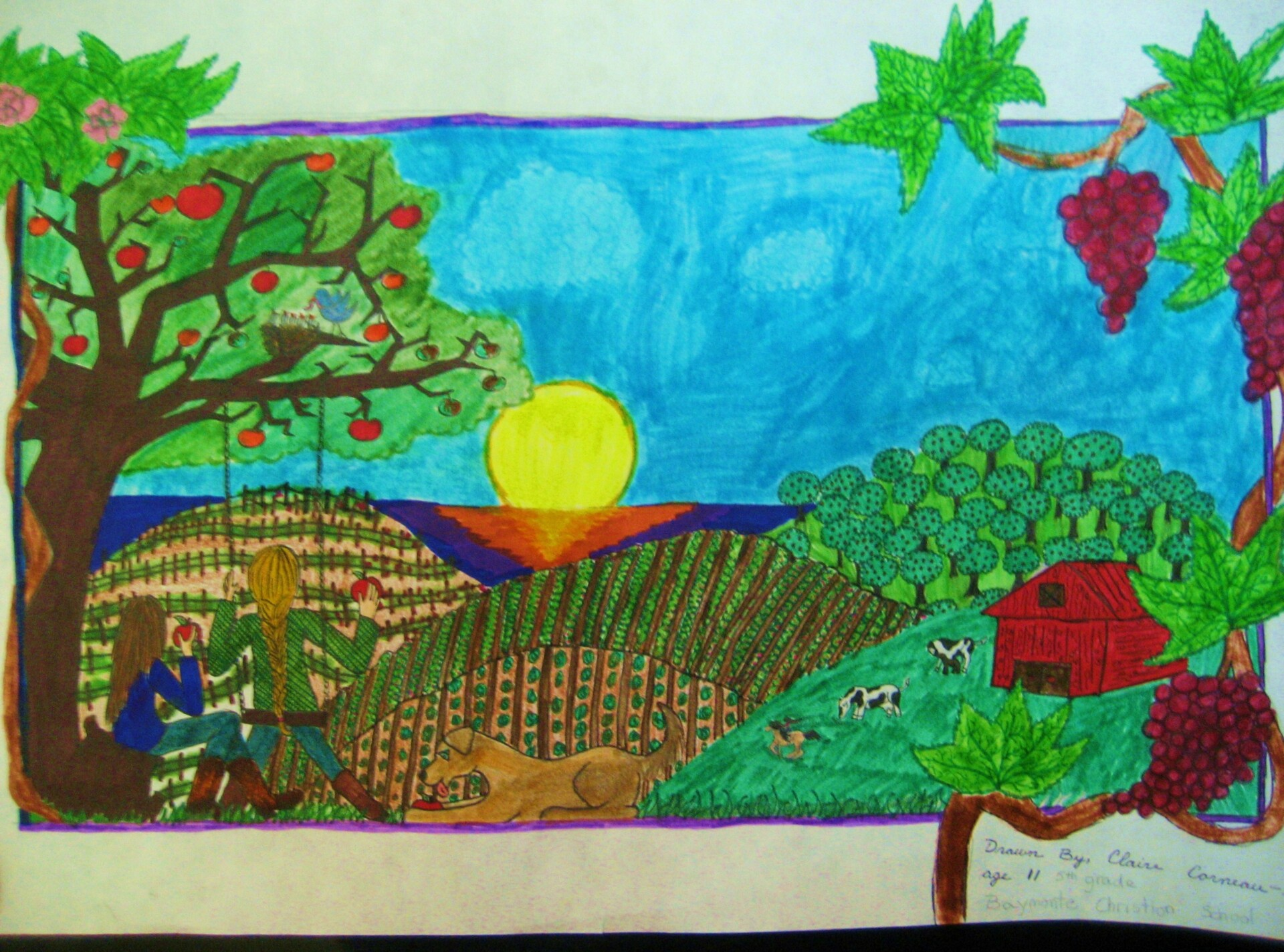 Baymonte Student Honored at 2012 Agriculture Day
