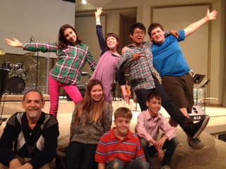 Middle School Worship Team Performed at Twin Lakes School