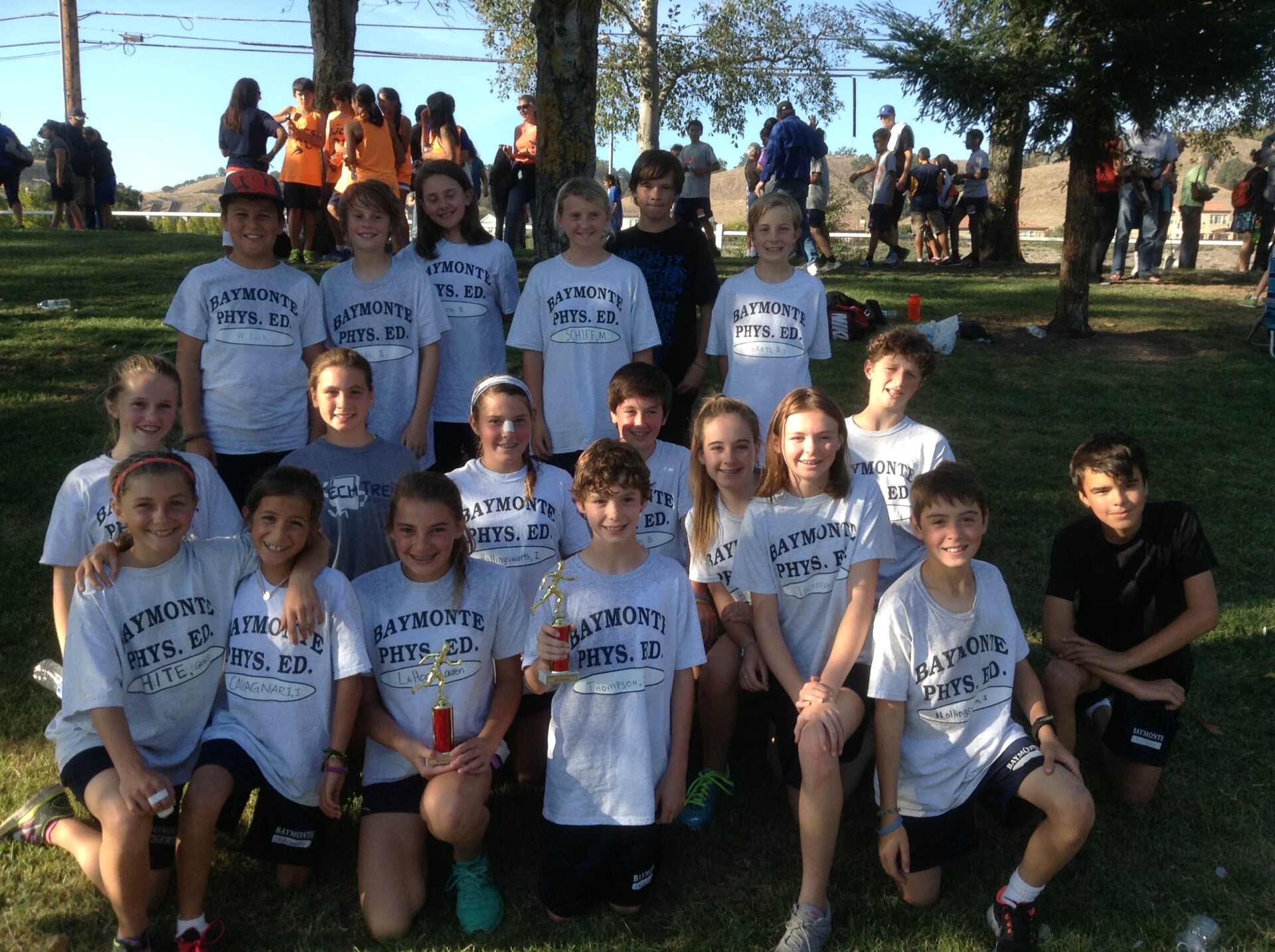 Cross Country Team Finishes Strong in Danville Event