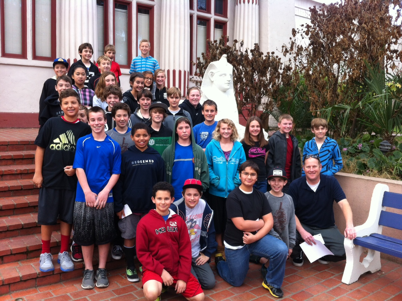 6th Graders Visit Egyptian Museum in San Jose