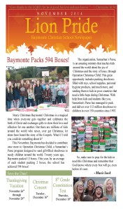 Lion Pride November Newspaper_Page_1