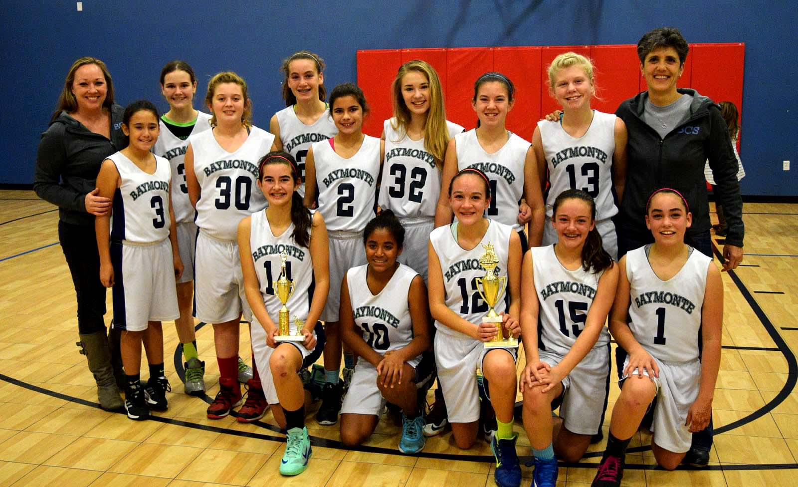 Baymonte Girls' Basketball Finishes Strong in the BACSAL Tournament