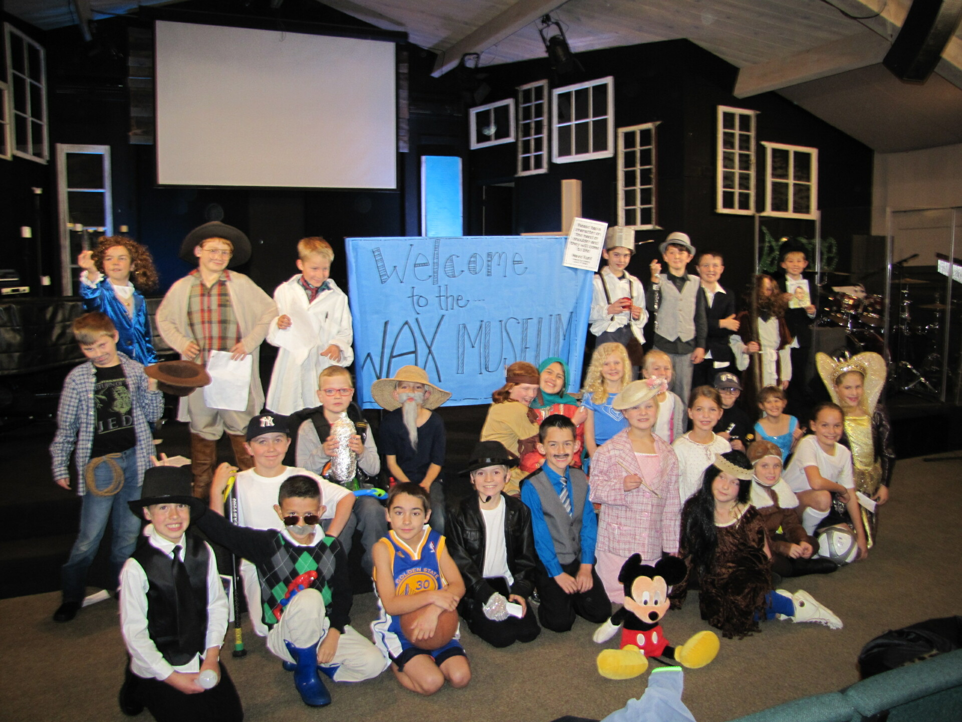Biographical Characters Come Alive at Wax Museum