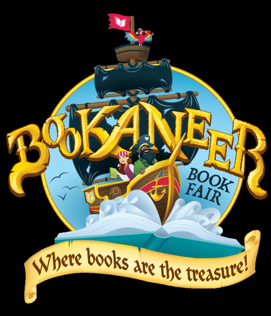 Bookaneer Book Fair Logo