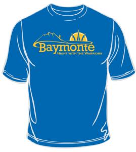 Baymonte Night with the Warriors Shirt