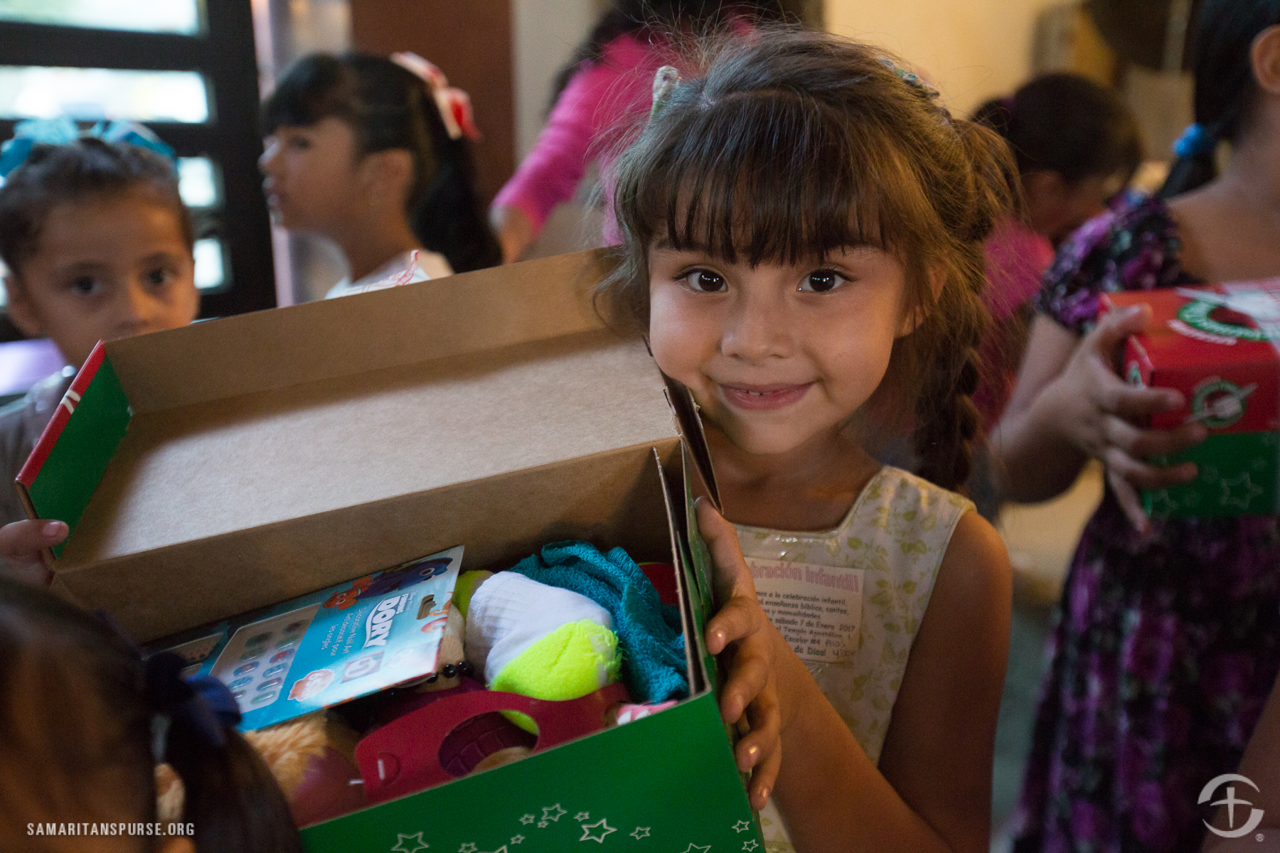Operation Christmas Child Shoeboxes Due Today!