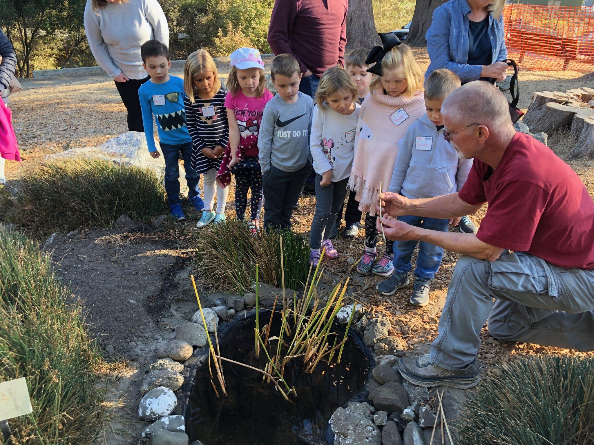 Baymonte Kindergarteners Visit Santa Cruz Museum of Natural History