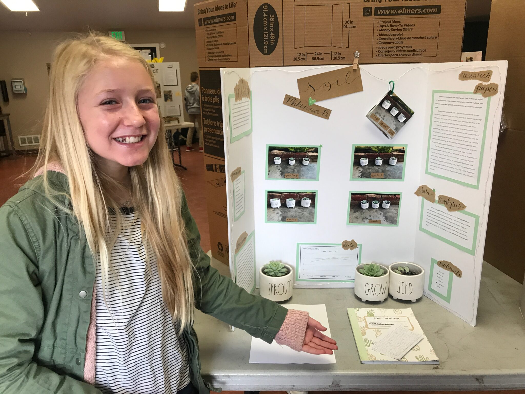 Seventh Grade Science Fair
