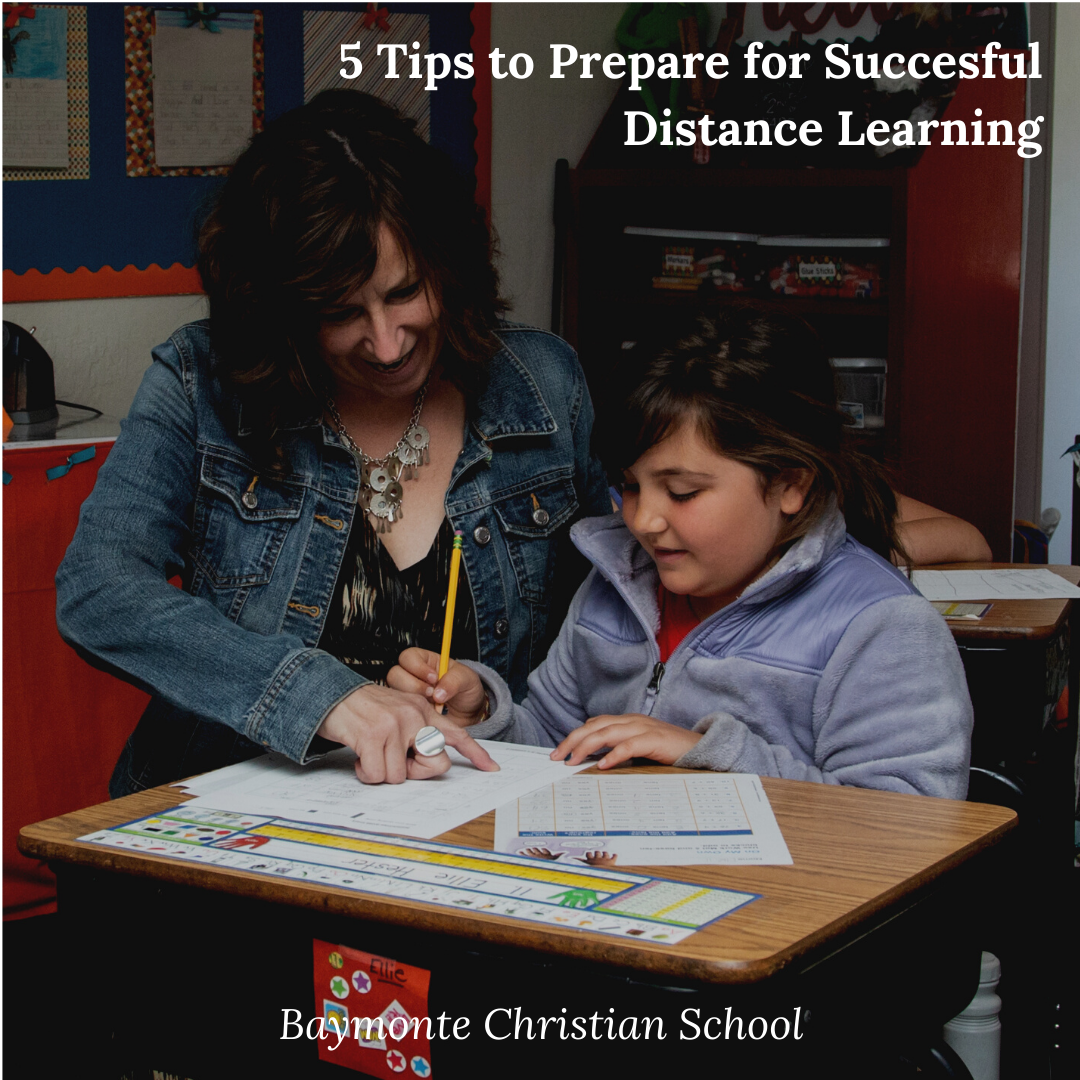 5 Tips to Prepare for Successful Distance Learning