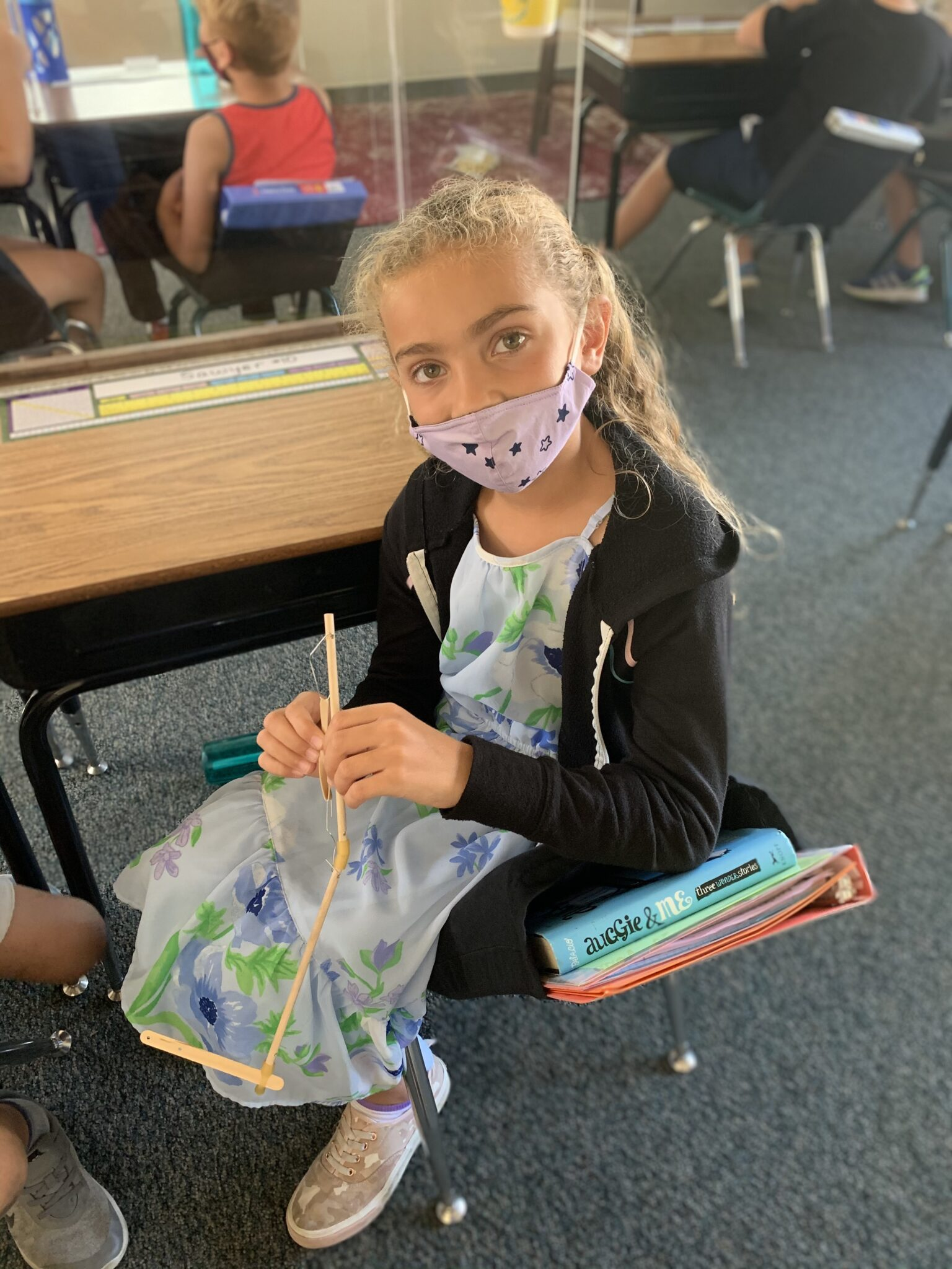 Baymonte Third Graders Learning about Skeletal System
