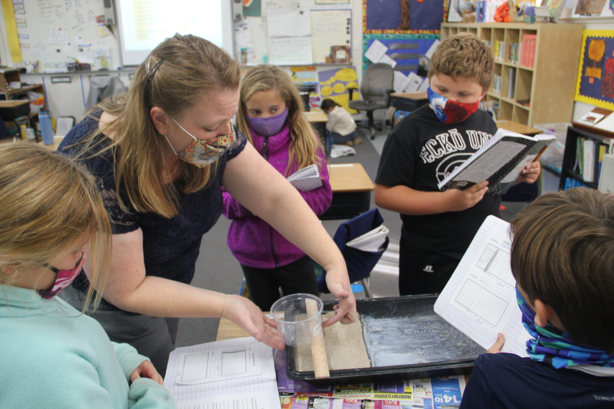 Fourth Graders Love Group Collaboration at Baymonte Christian School!