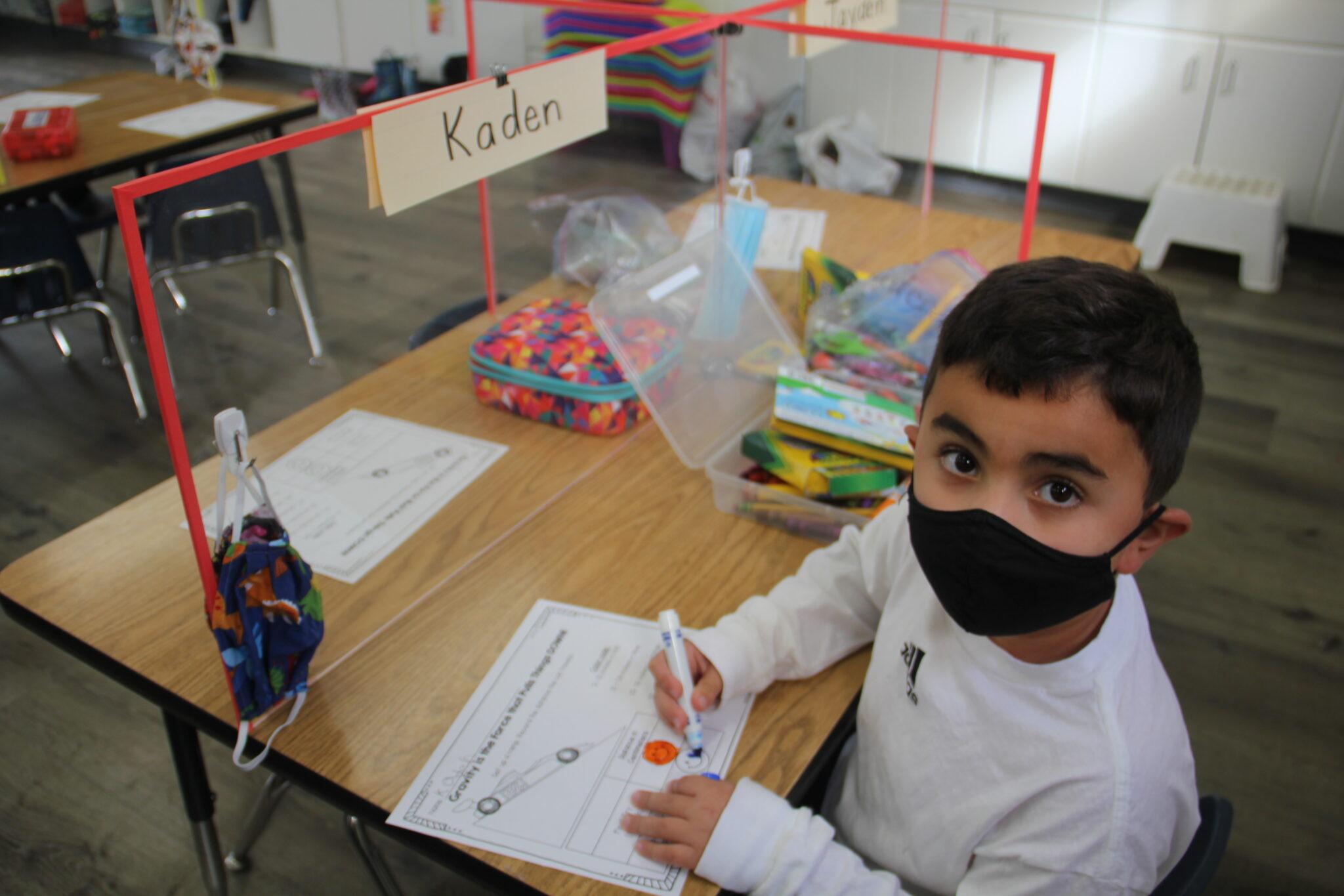 Baymonte Kindergarteners Learn About Force!