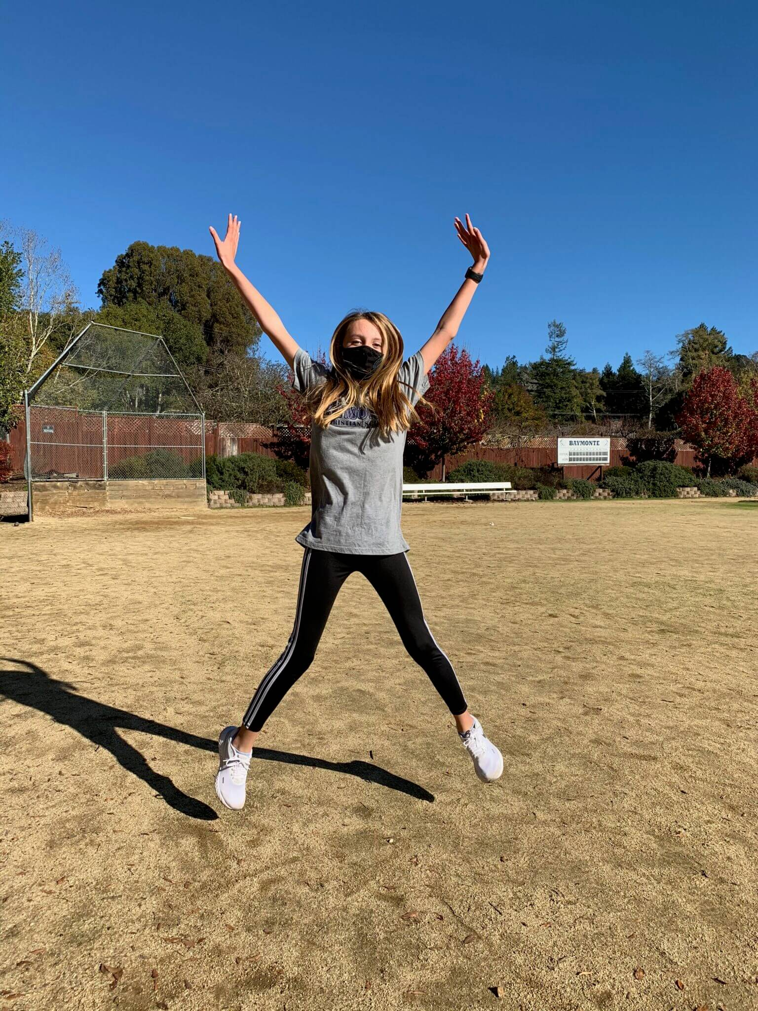 The Twelve Days of Fitness with BCS Middle School PE Teacher, Kristi Trefethen