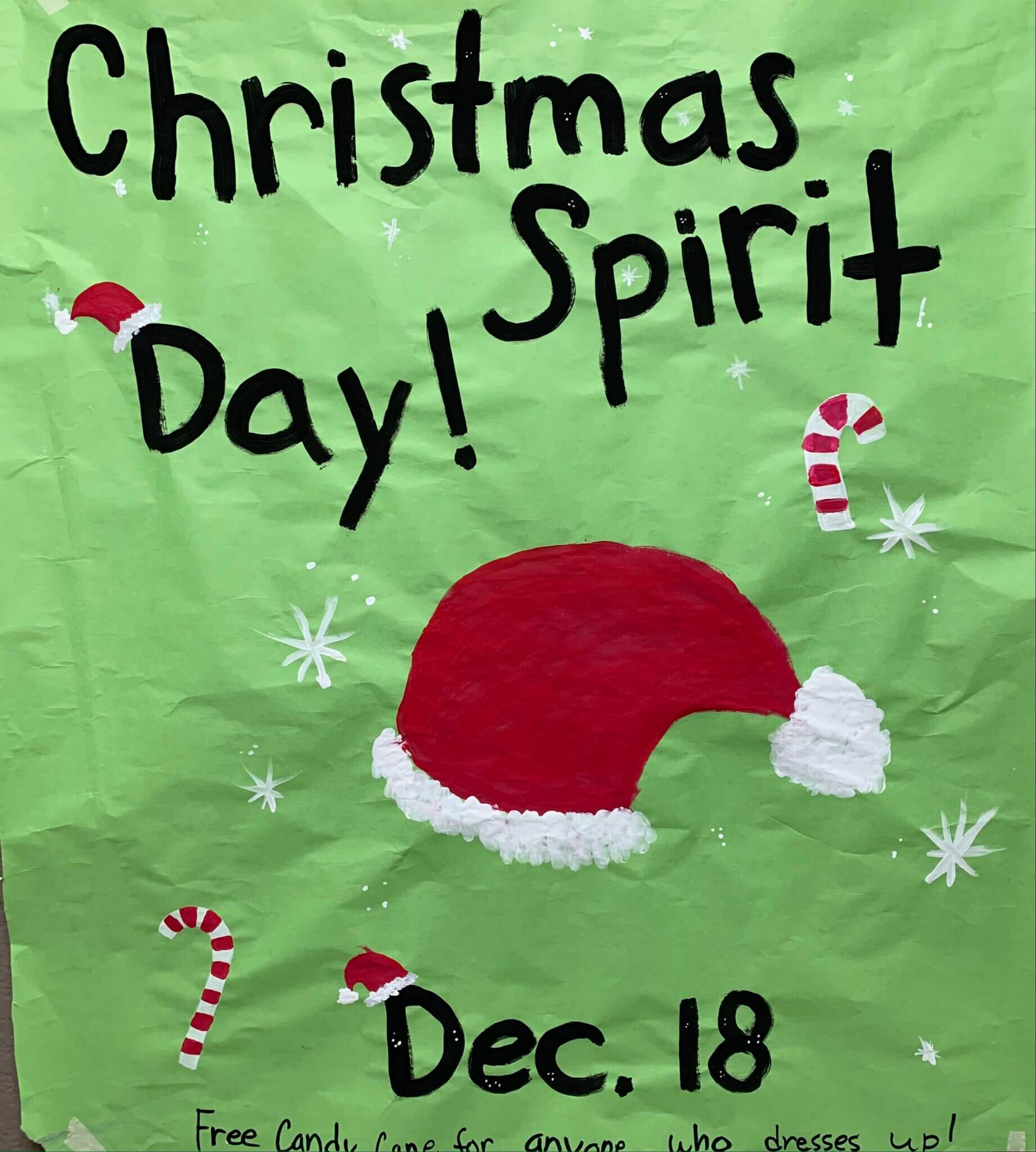Christmas Sweater Day Tomorrow!