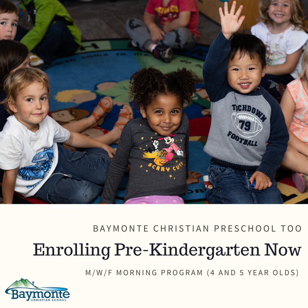 Preschool Too is Enrolling Now!