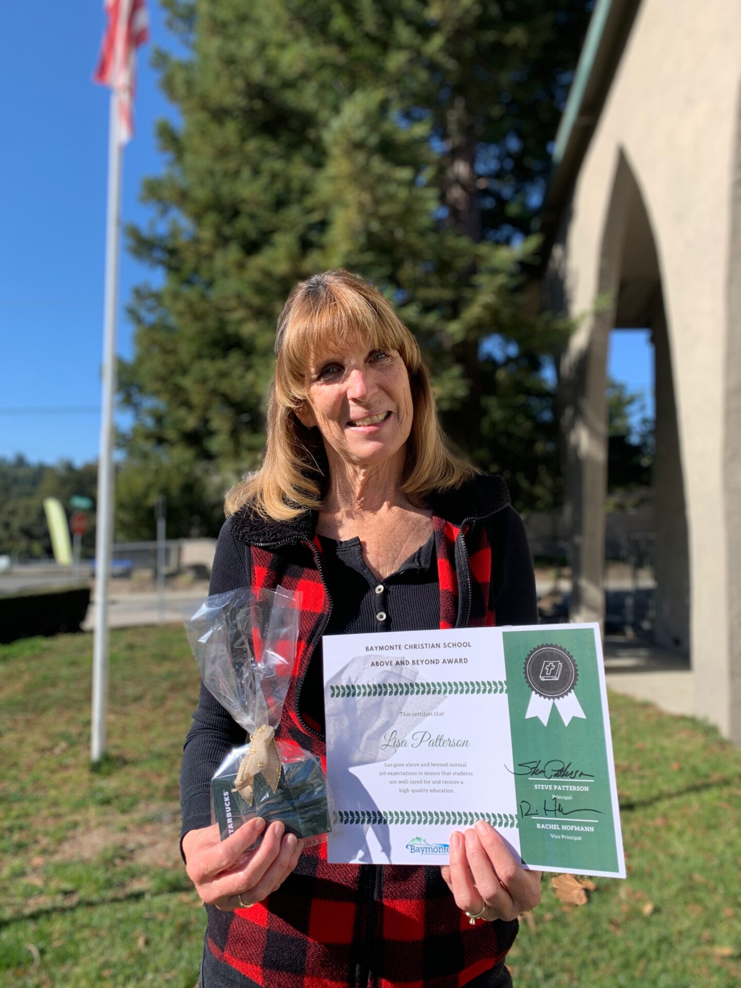 Above and Beyond Award: Lisa Patterson