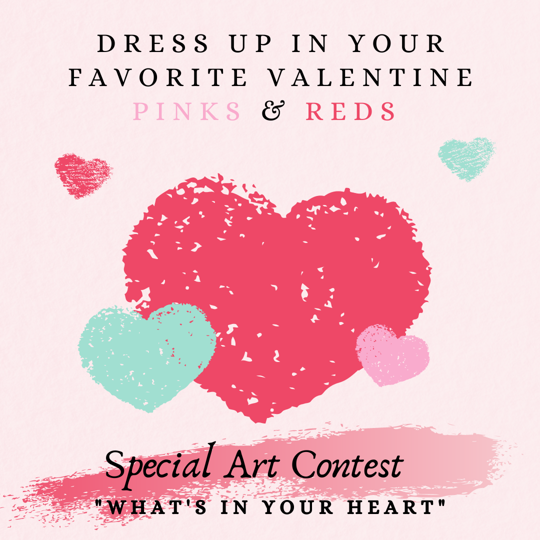 Pink & Red Dress up for Valentine's
