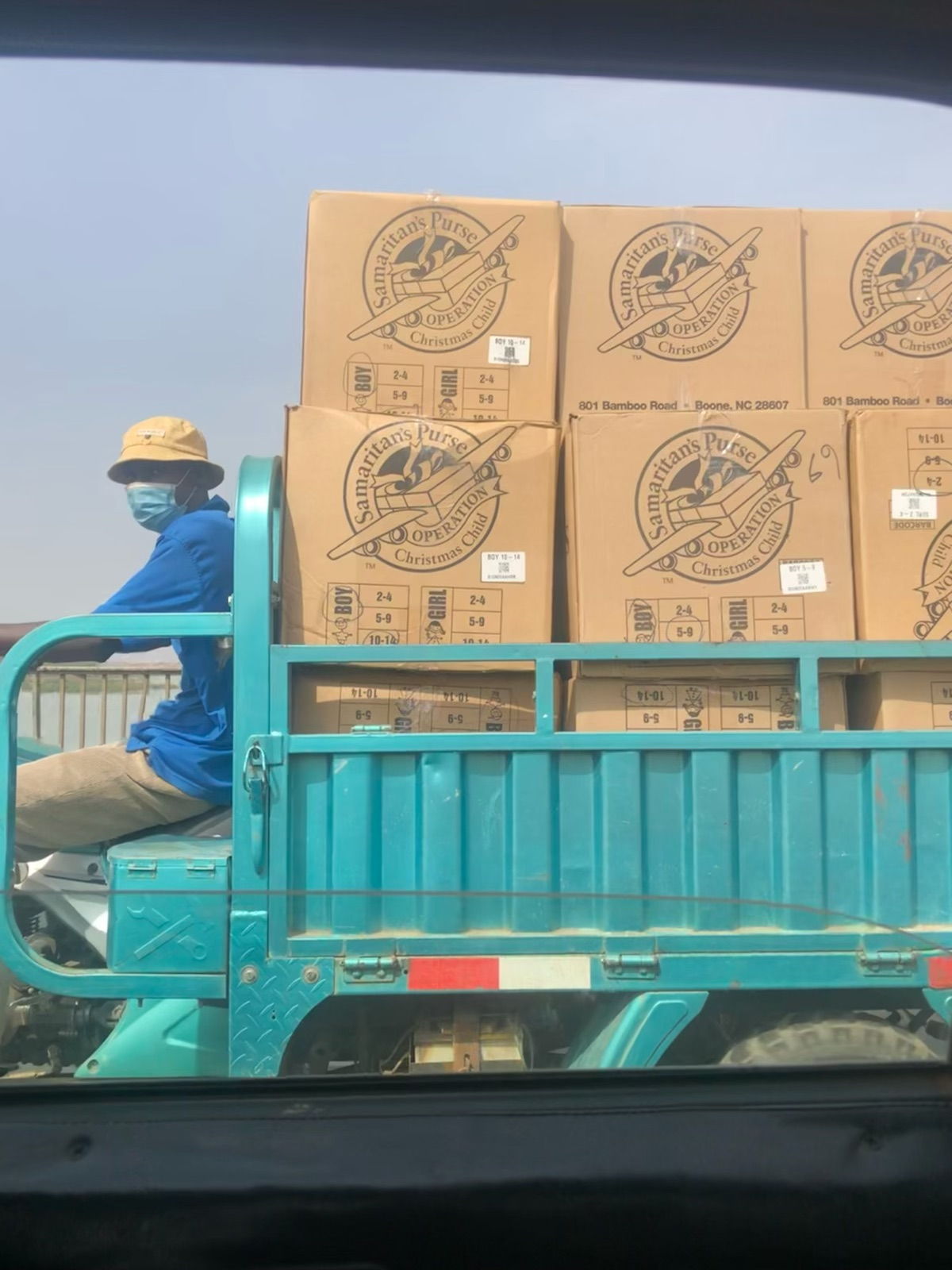 OCC Boxes Spotted in Mali!