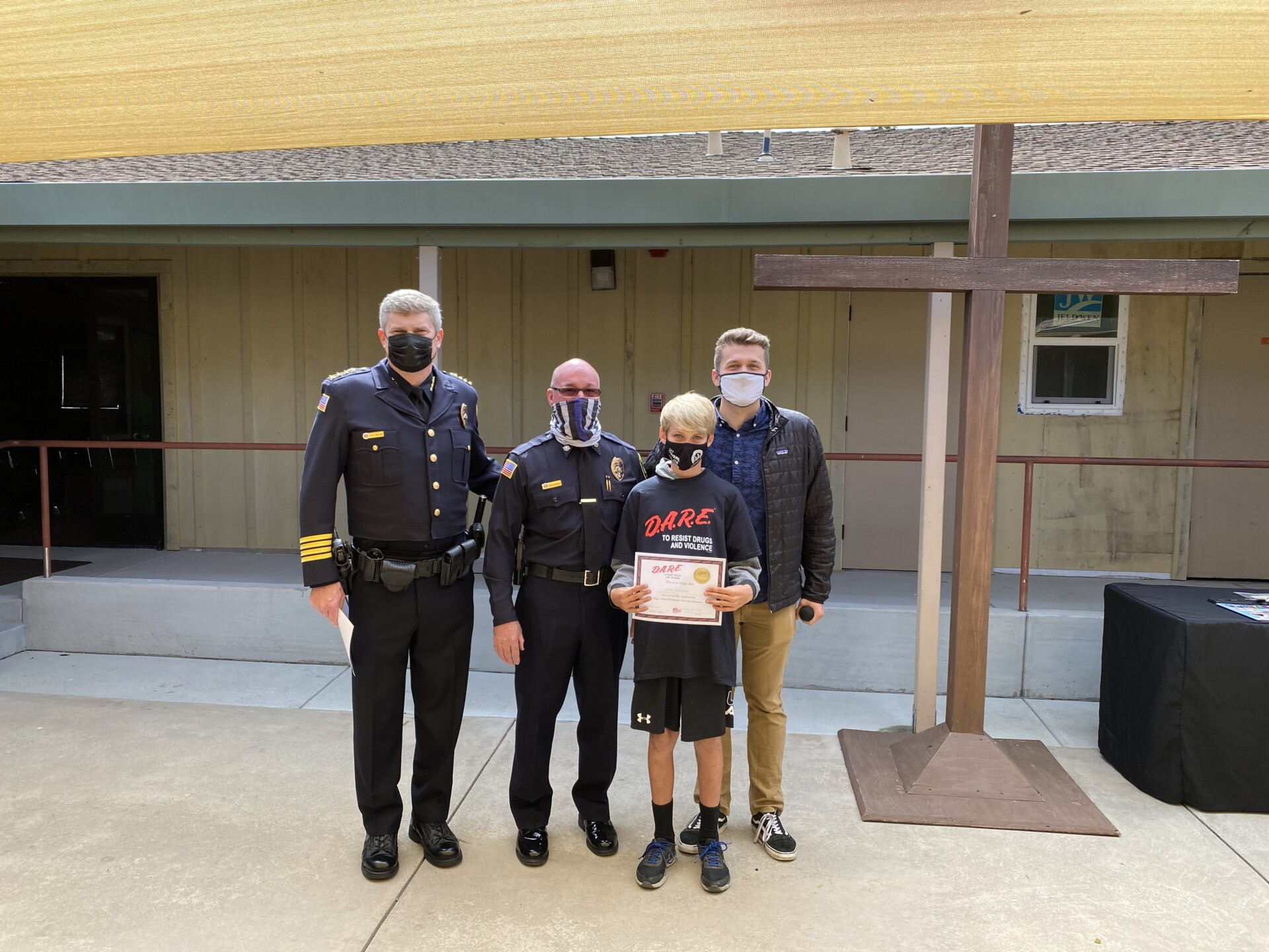 Baymonte Fifth Graders Celebrate with SVPD at D.A.R.E. Graduation