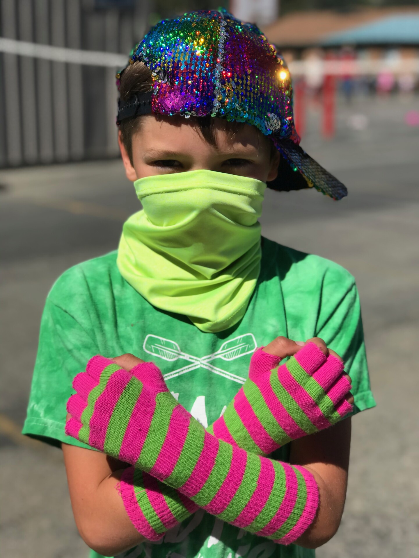 Color Fun Run Pep Rally!