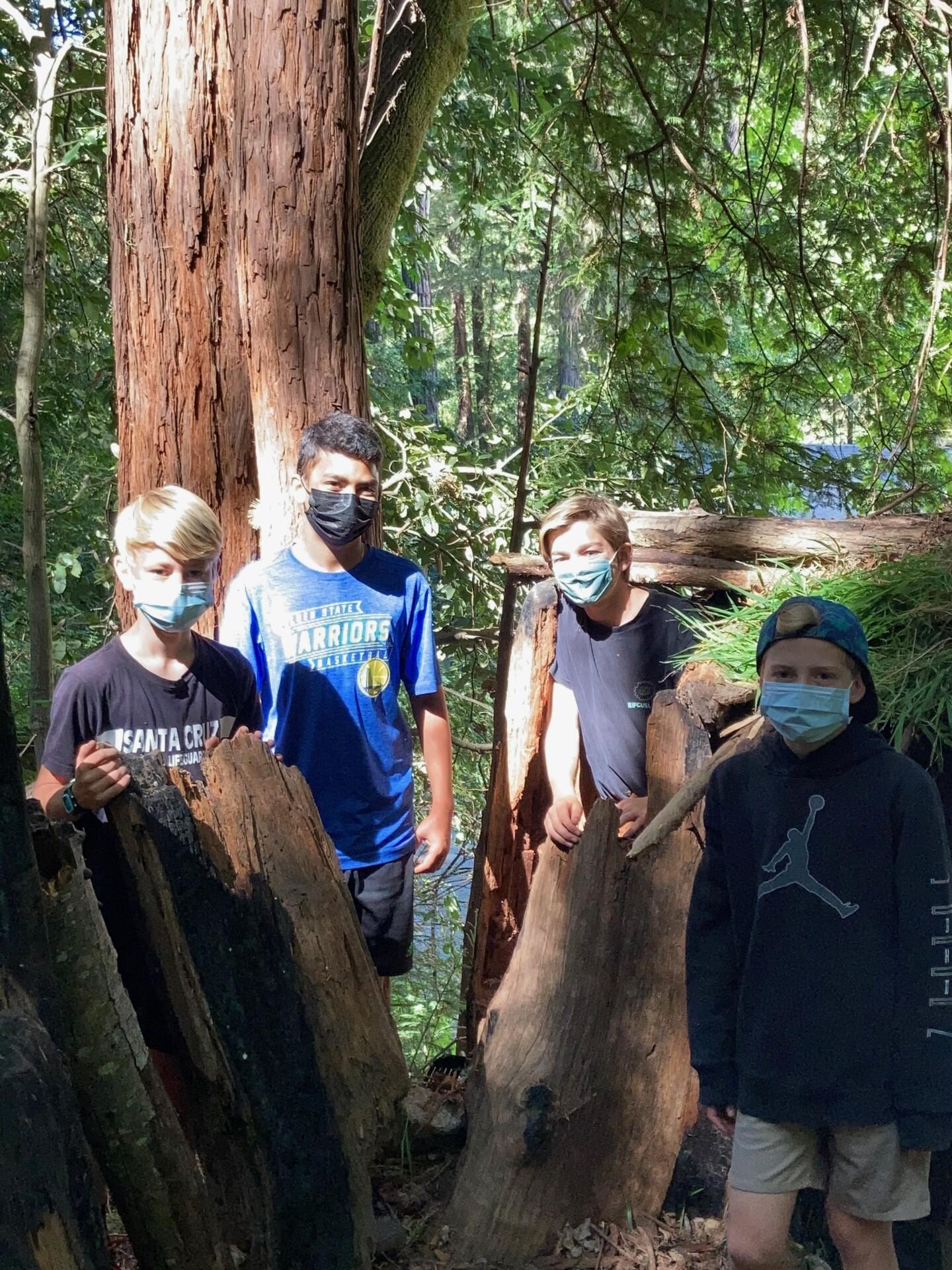 Baymonte Sixth and Seventh Graders Enjoy Adventure Week